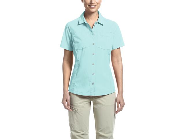 Maier Sports Peregrin SS Shirt Damen blue radiance
